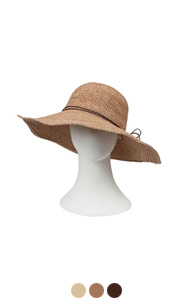 (encore)standard raffia hat <br> (3 colors)