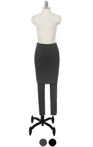 superwarm H-skirt leggings <br> (2 colors)