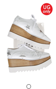 favorite oxford creepers <br> with star(white)