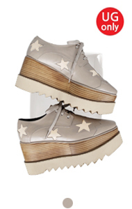 favorite oxford creepers <br> with star(gray)