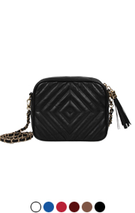 saint quilted minibag <br> (6 colors)