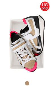 "UTG piere linen embellished sneakers <br> <font color=#ff9999 size=""1.9"" face=verdana>BEST BUY</font>"