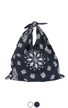 bandana knot bag
