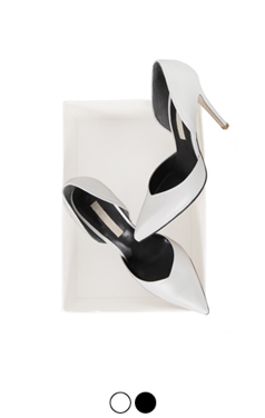 v-cut point toe pumps