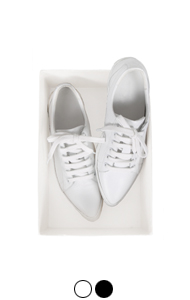 pointed toe sneakers