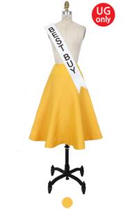 "UTG circle skirt(yellow) <br> <font color=#82C7E4 size=""1.9"" face=verdana>SALE</font>"