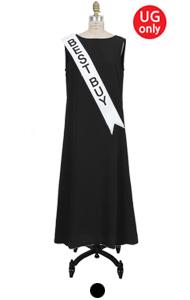 UTG cowl-back dress