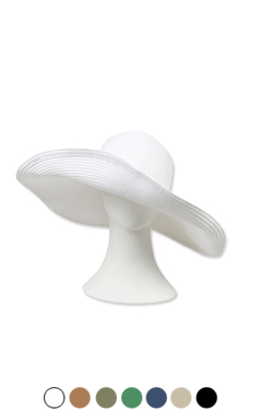 encore! paper floppy hat