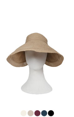 "elegant linen visor hat <br> <font color=#82C7E4 size=""1.9"" face=verdana>COLOR ADD</font>"