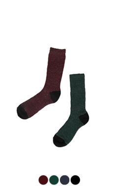two tone glitter socks