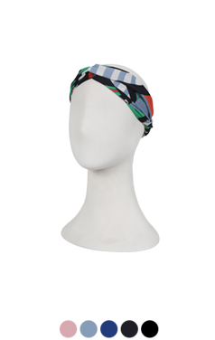 printed turban headband