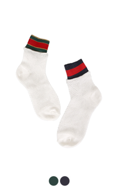 color banded summer socks