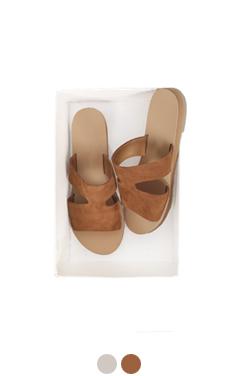 capri suede slippers