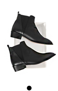 "(upgrade)ACN jensen chelsea boots <br> <font color=#82C7E4 size=""1.9"" face=verdana>COLOR ADD</font>"
