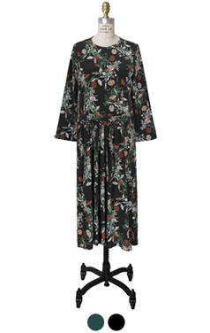 silky daisy dress
