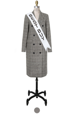 "mustbuy double-breasted glan coat <br> <font color=#82C7E4 size=""1.9"" face=verdana>SIZE ADD</font>"