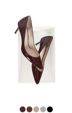 "daily patent pumps <br> <font color=#ff9999 size=""1.9"" face=verdana>BEST BUY</font>"