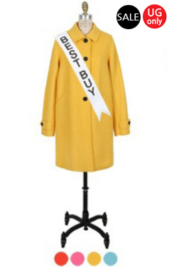 UTG candy A-line coat <br> (4 colors)