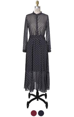 favorite printed chiffon dress
