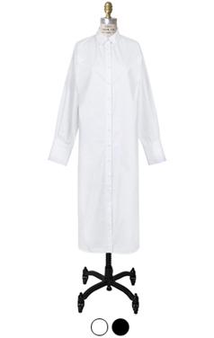 essential maxi shirtdress
