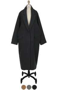 oversized maxi coat <br> (3 colors)