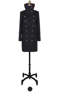 napoleon high neck coat