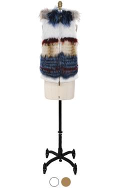 """UTG fur collection#16 <br> (2 colors) <br> <font color=#82C7E4 size=""""1.9"""" face=verdana>RESTORE</font>"""