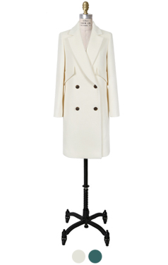 wooly tailored coat