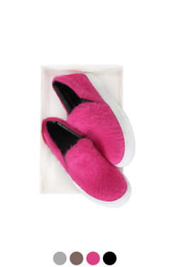 "[GOOD PRICE] <br> hairy platform slipon <br> <font color=#ff9999 size=""1.9"" face=verdana>BEST BUY</font>"