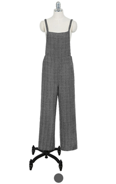 glencheck overall pants