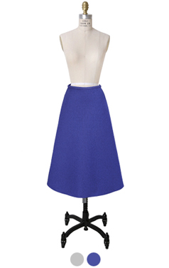 metalic origami A line skirt