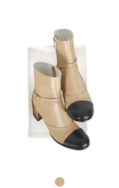 "belted cap-toe ankle boots <br> <font color=#ff9999 size=""1.9"" face=verdana>BEST BUY</font>"