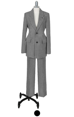 "phoebe houndtooth check suit <br> <font color=#82C7E4 size=""1.9"" face=verdana>SIZE ADD</font>"