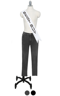 "perfect-fit straight denim <br> <font color=#82C7E4 size=""1.9"" face=verdana>SIZE ADD</font>"