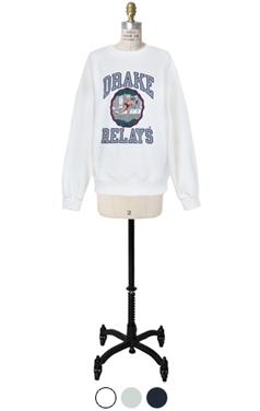 drake printed sweatshirts