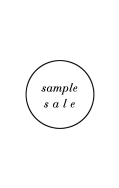 sample sale#307