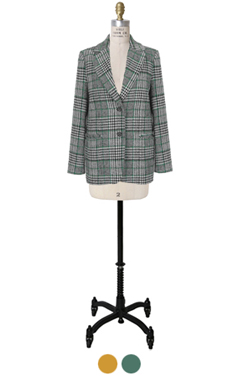 "cedric plaid wool jacket <br> <font color=#82C7E4 size=""1.9"" face=verdana>COLOR ADD</font>"