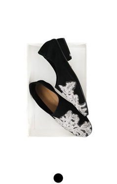 "andre applique suede flat <br> <font color=#ff9999 size=""1.9"" face=verdana>BEST BUY</font>"