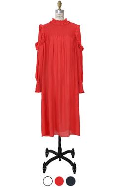 "favorite negligee frill dress <br> <font color=#82C7E4 size=""1.9"" face=verdana>COLOR ADD</font>"