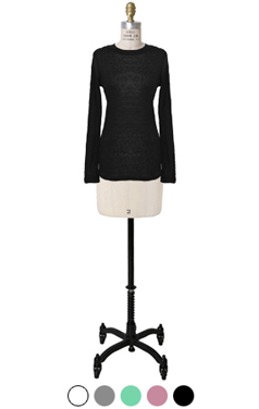 tencel blended daily tee