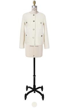 wooly tweed classic jacket