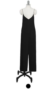 skinny strap jumpsuit