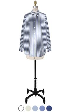 crispy cotton stripe shirts