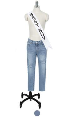 spring slim straight jean