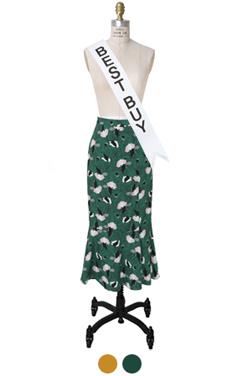 consuella printed skirt