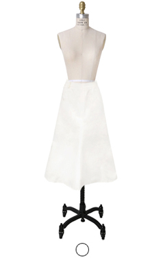 crispy cotton mermaid skirt