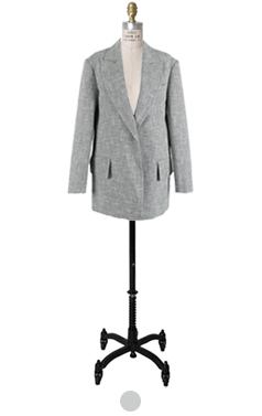 oversize tweed jacket