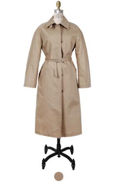 volume trench coat
