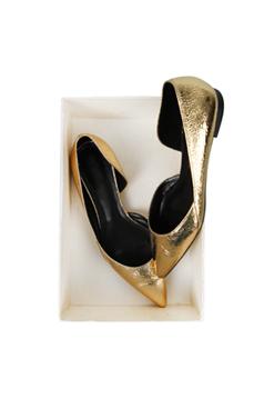gold foil flat
