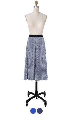 abe pleated skirt